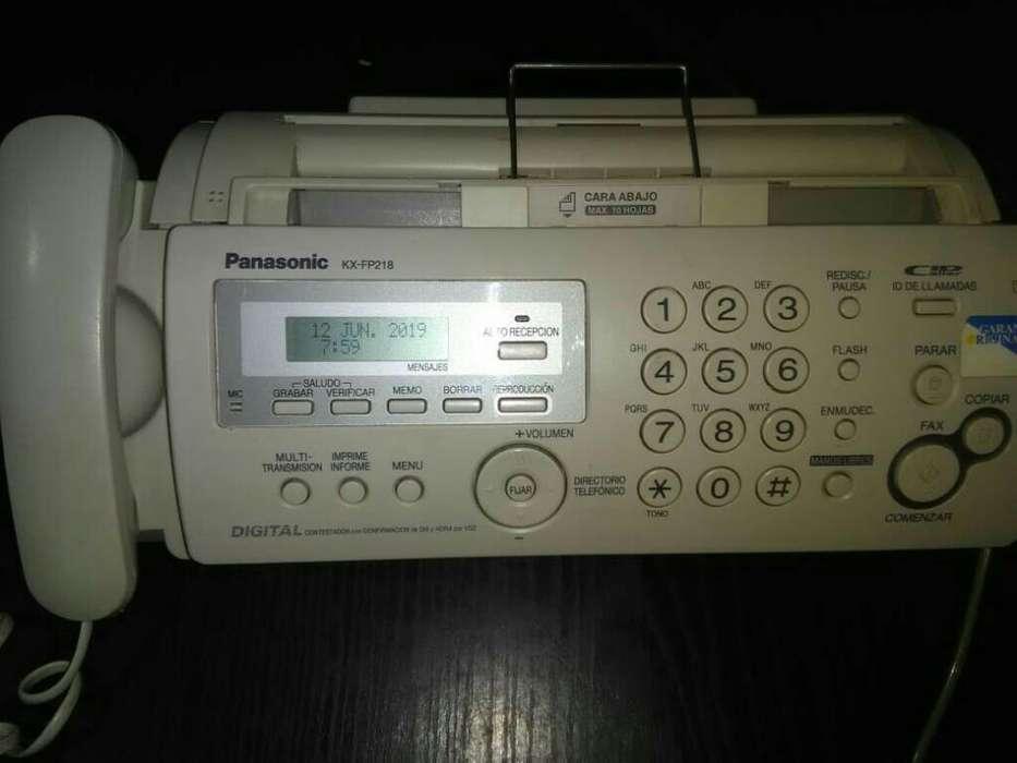Fax Panasonic Kx Fp218