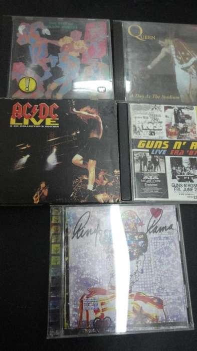 CDS DE ROCK INTERNACIONAL ORIGINALES 1X300 2X500