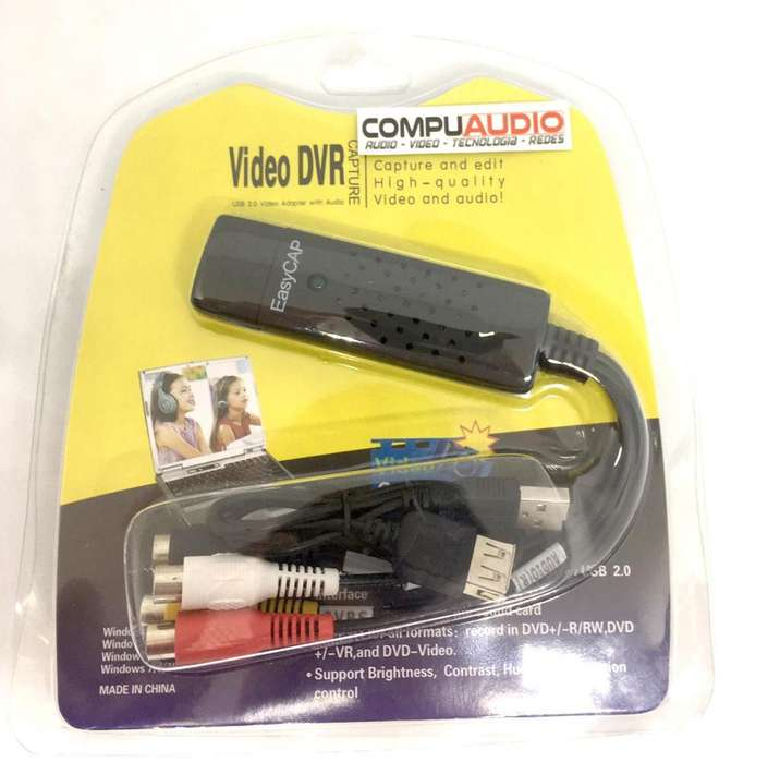 Capturadora de Video Analogo a Digital USB
