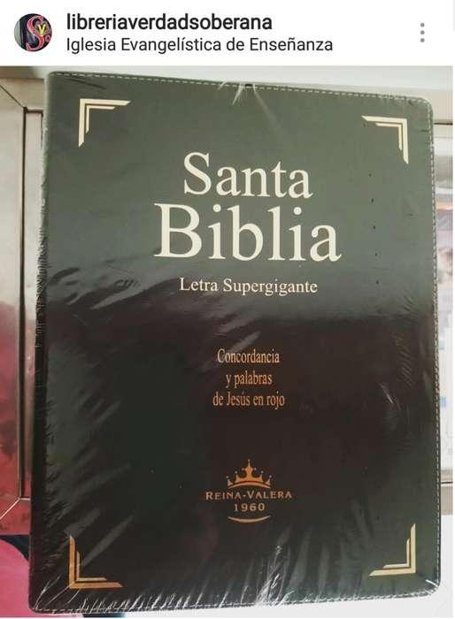 Santa Biblia Reina Valera 1960 Letra Súper Gigante