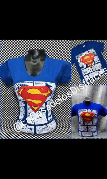 Camisetas de SuperHeroes