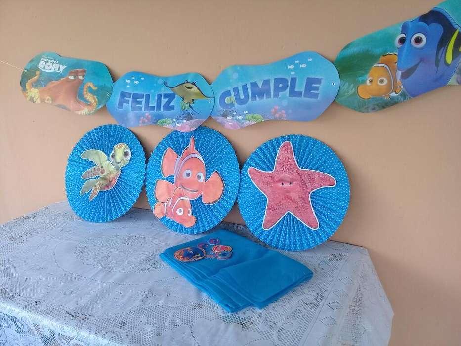 Combo Cotillon Dory Nemo
