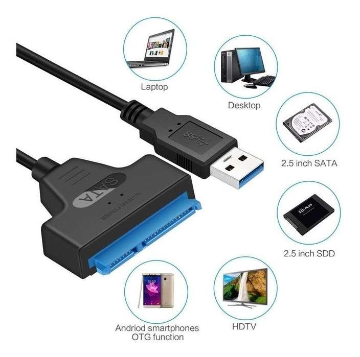 Cable conexión SATA 3 a USB 3.0