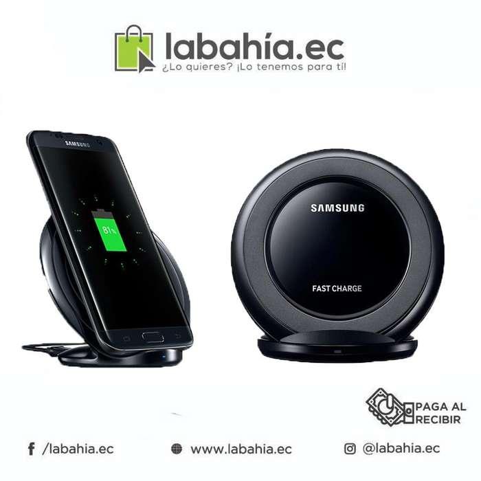Cargador Inalámbrico Tecnología IQ Samsung Huawei