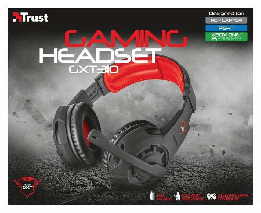 DIADEMA TRUST GAMER GXT310 PARA PC, LAPTOP, PS4, XBOX ONE