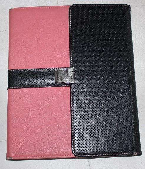 Estuche Forro Protector Tablet Tipo Agenda Ipad 2 3 4 Rosa