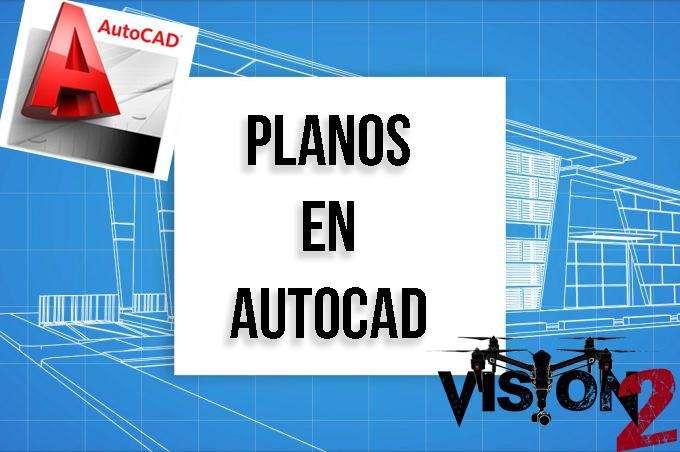 Digitalización De planos en Autocad en El Oro