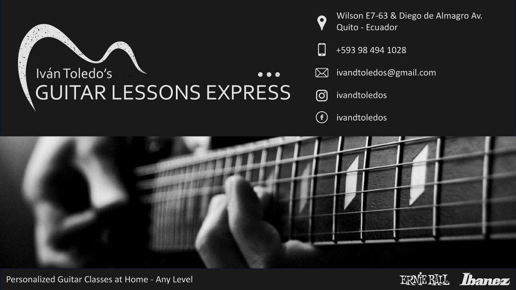 Clases de Guitarra a domicilio/Guitar Lessons at Home