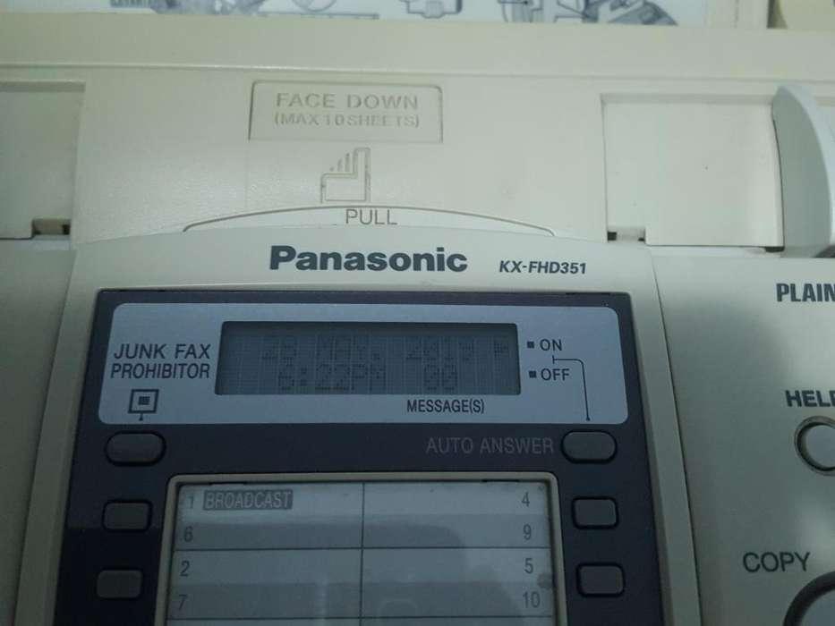 <strong>fax</strong> Panasonic Kx Fhd351
