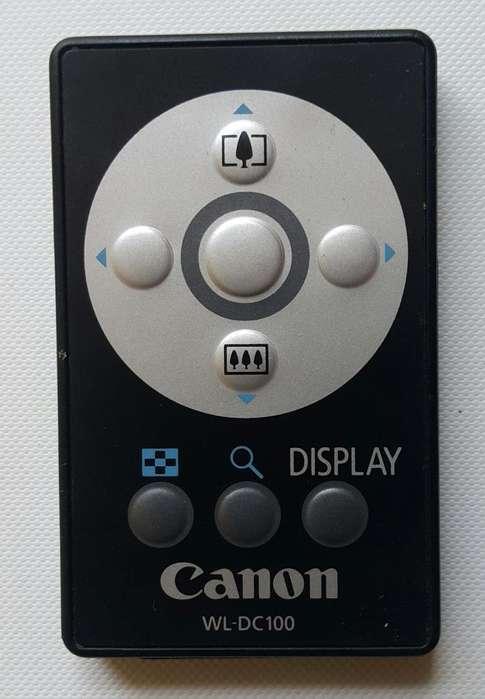 Control Remoto Canon WLDC100 Camcorder