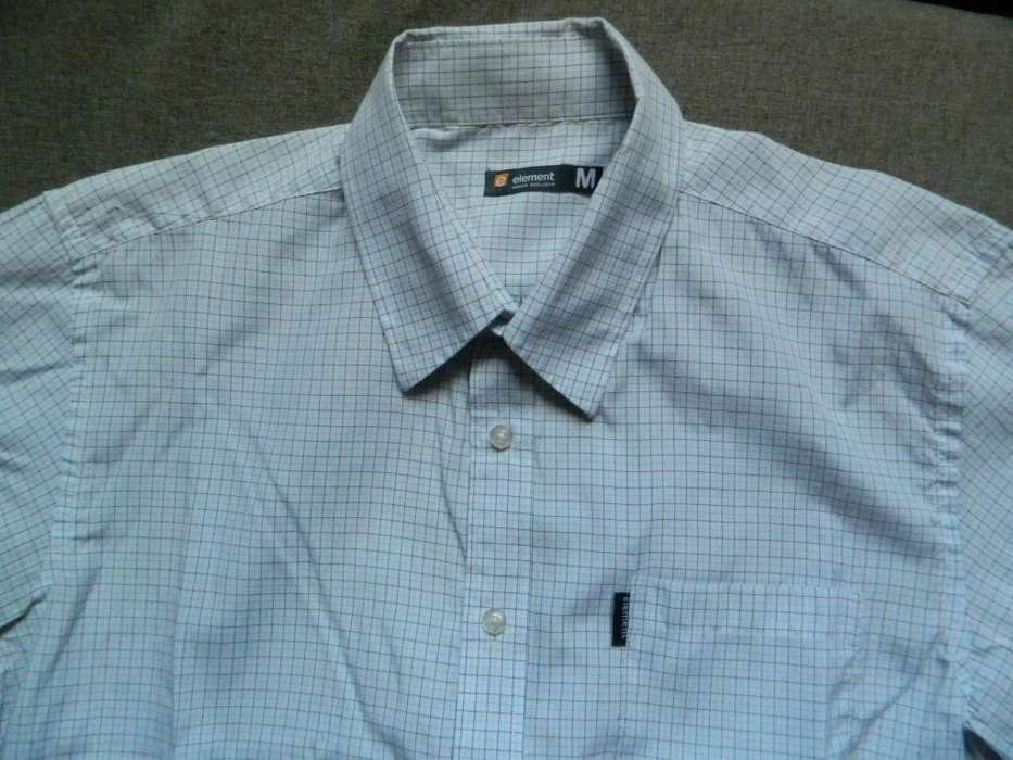 <strong>camisa</strong> Element hombre talle Medium chico