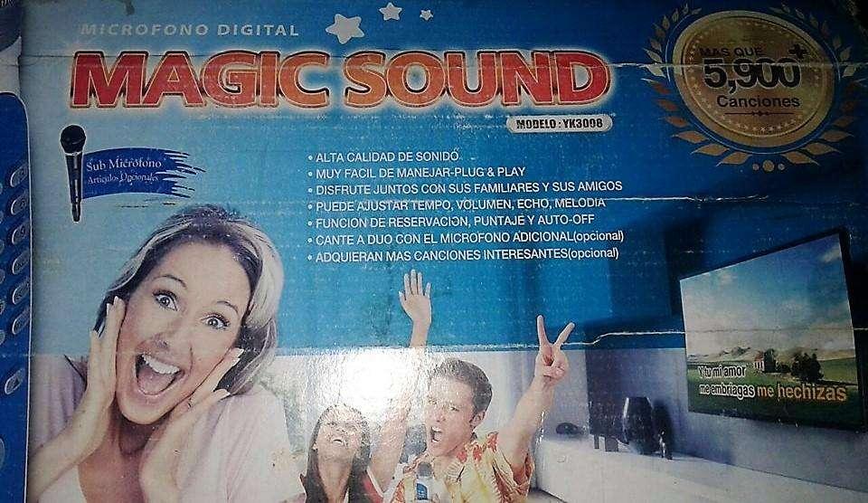 <strong>karaoke</strong> Magic Sound YK3008 con 5.900 Canciones (Se vende por falta de uso) (NEGOCIABLE)