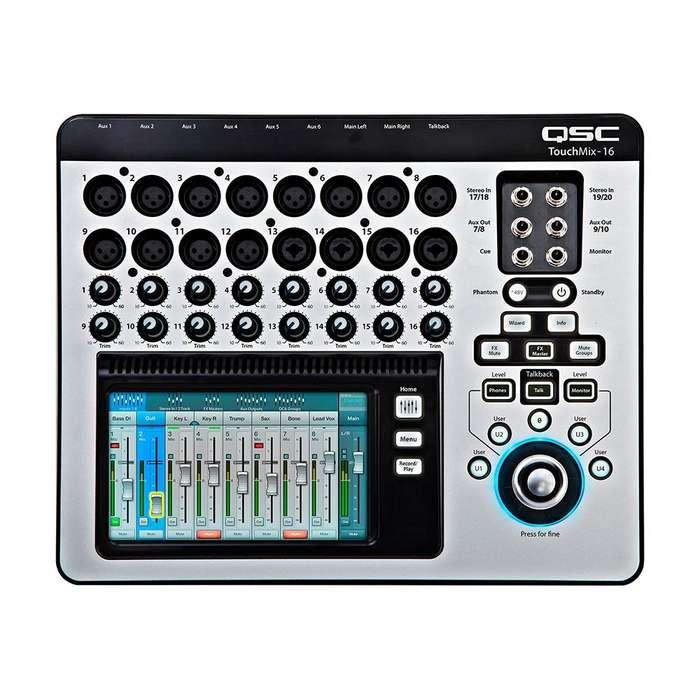 Consola Qsc TOUCHMIX-16 Mezclador audio