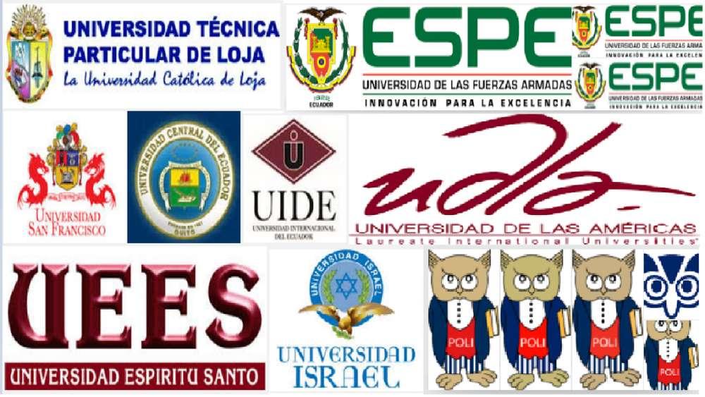 UTPL UCE UTE ESPE UPS UDLA UTI USFQ UIDE tareas, trabajos clases individuales y grupales