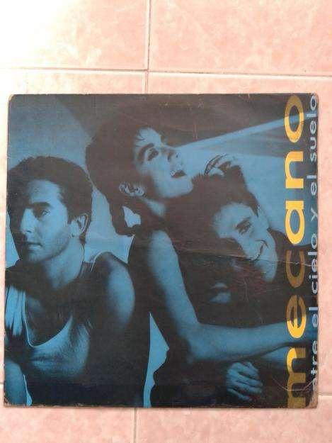 LP Mecano: Entre El Cielo y El Suelo. 1986