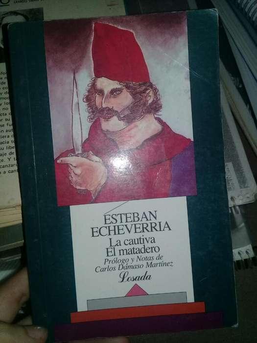 Libro La Cautiva Esteban Echeverria