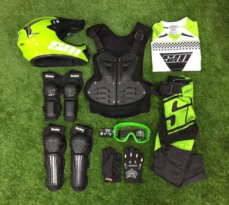 Impermeable Uniforme Motocross Bicicross Srm Origina