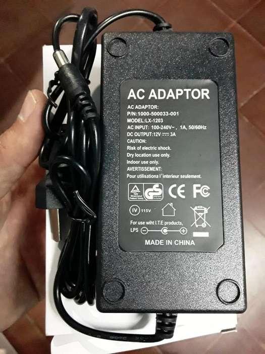 Fuente 12 Volts X 3 Amperes Nueva