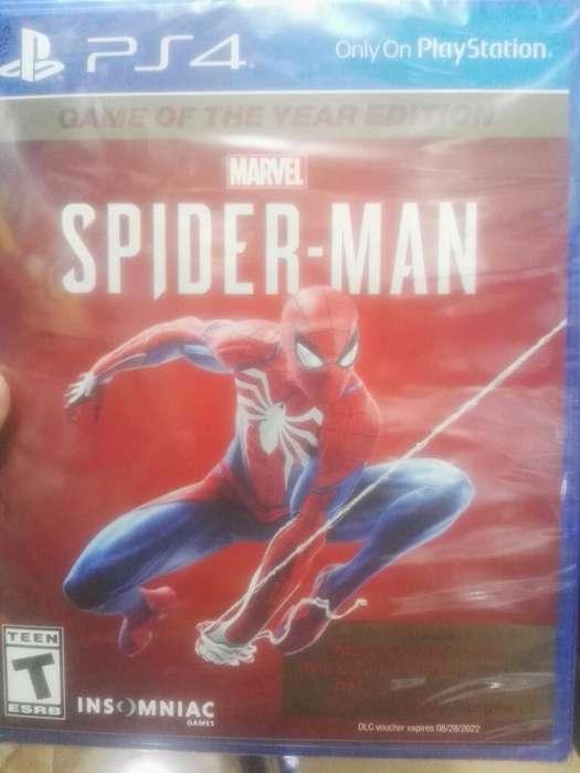 Spiderman Juego Del Año