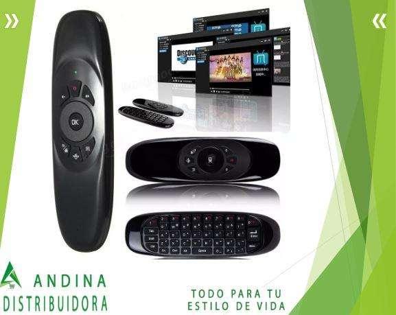 Air Mouse Teclado Inalámbrico Giroscopio Smart Tv