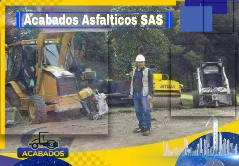 Pavimentaciones en Asfalto, Demarcaciones de Canchas y Parqueaderos / 22 años de Experiencia