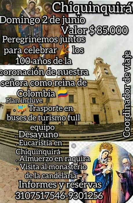 Gran Peregrinación Chiquinquirá Boyacá