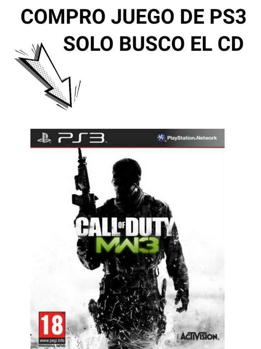 Call Of Duty Mw3 para Ps3 Solo Cd