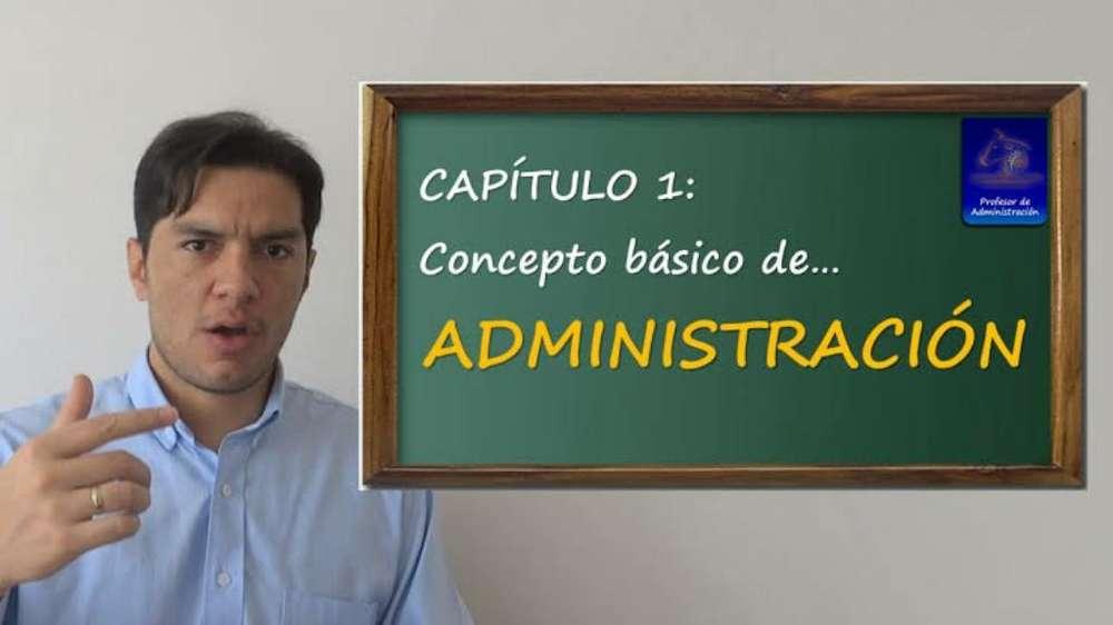 Profesor de Administración Huanuco