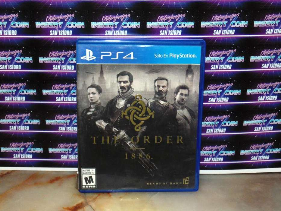 The order 1886 PS4 Juego Play Station 4