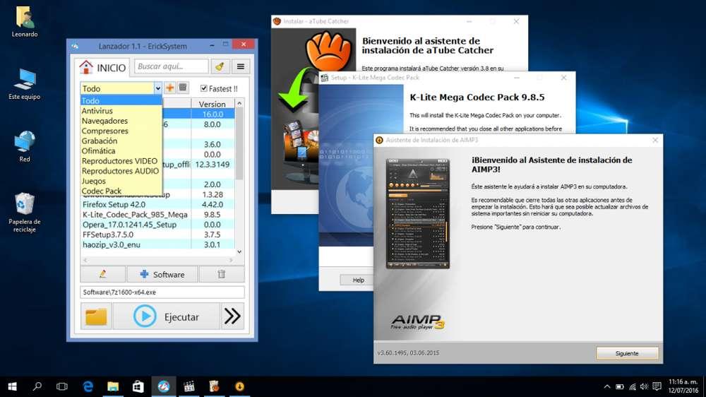 Software, Abre Y Administra Tus Programas Favoritos