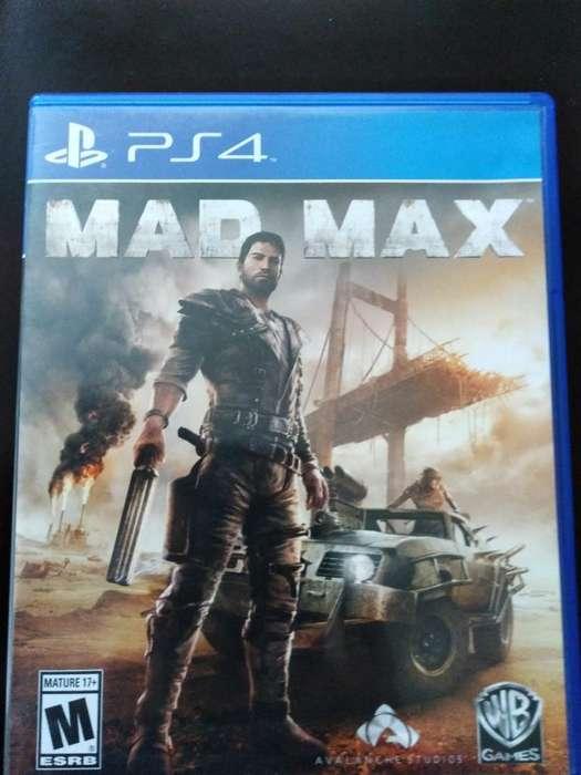 Vendo Mad Max Ps4