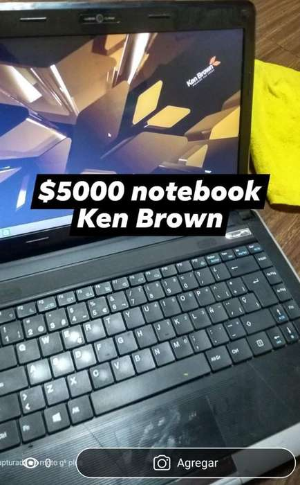 Notebook Ken Brown