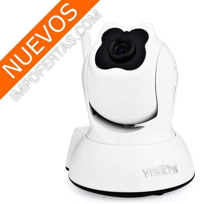 Con esta camara Wifi de seguridad robotica, vigila lo que desees