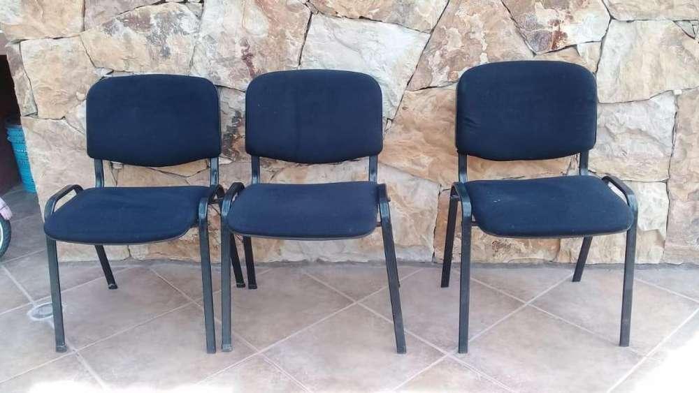 vendo tres <strong>silla</strong>s de oficinas