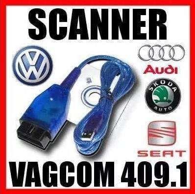 Scaner Automotriz Obd2 Vagcom 409.1 Kkl Usb