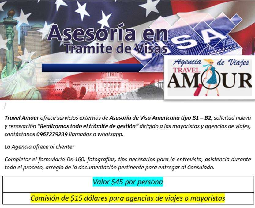 Asesoria de Visado Americano
