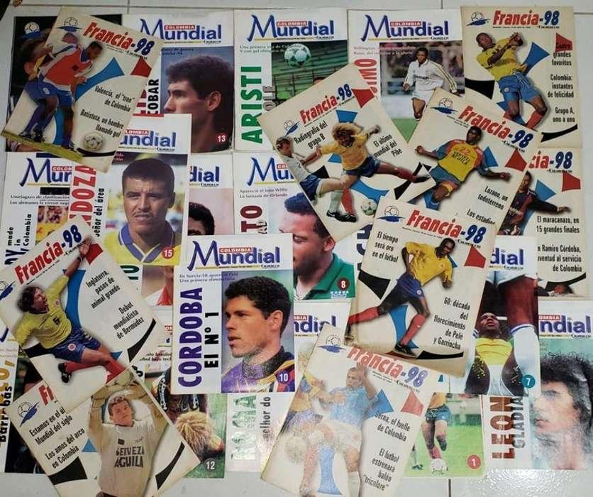 Coleccion de 25 Revistas de Futbol
