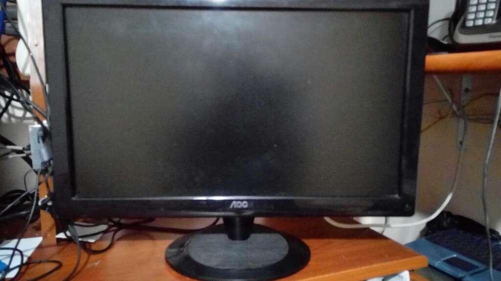 Monitor Lcd Aoc de 20 Pulgadas