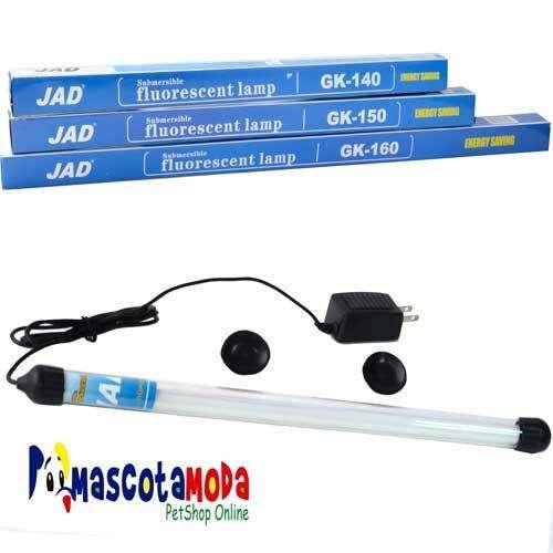Luces fluorecentes sumergibles para acuarios y peceras varias medidas