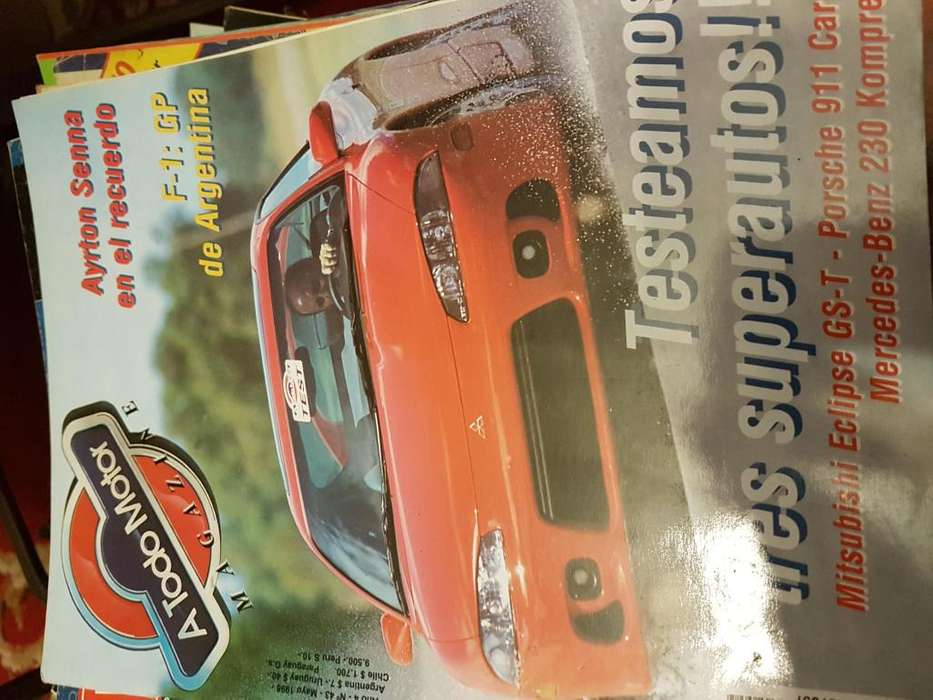 revistas de automovilismo