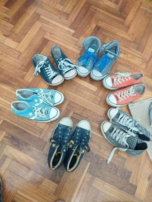 Zapatillas Converse Talle 42 Usadas