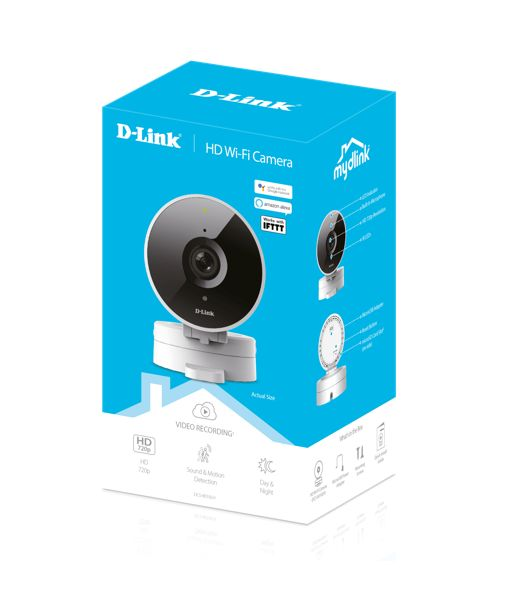 CAMARA IP D-LINK INALAMBRICA DCS-8010LH DIA Y NOCHE HD