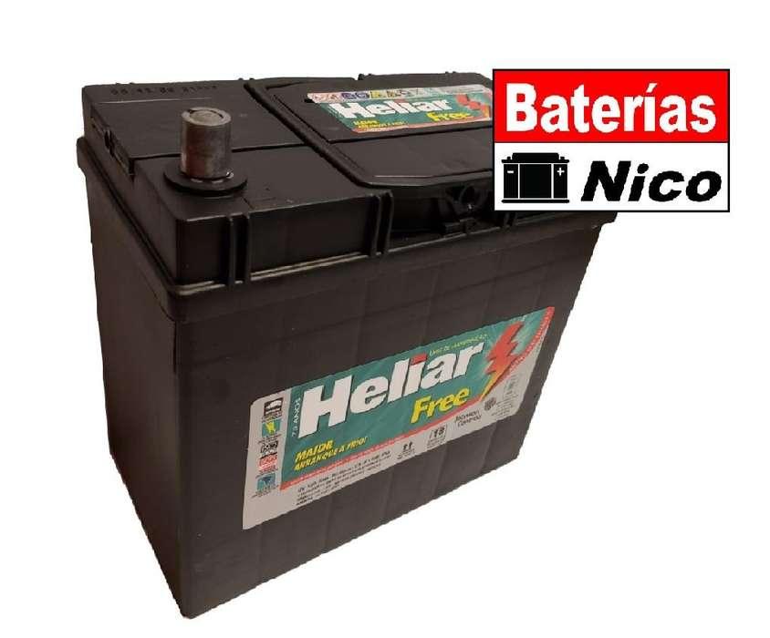 BATERÍA HELIAR 12X50 (HONDA -CIVIC)