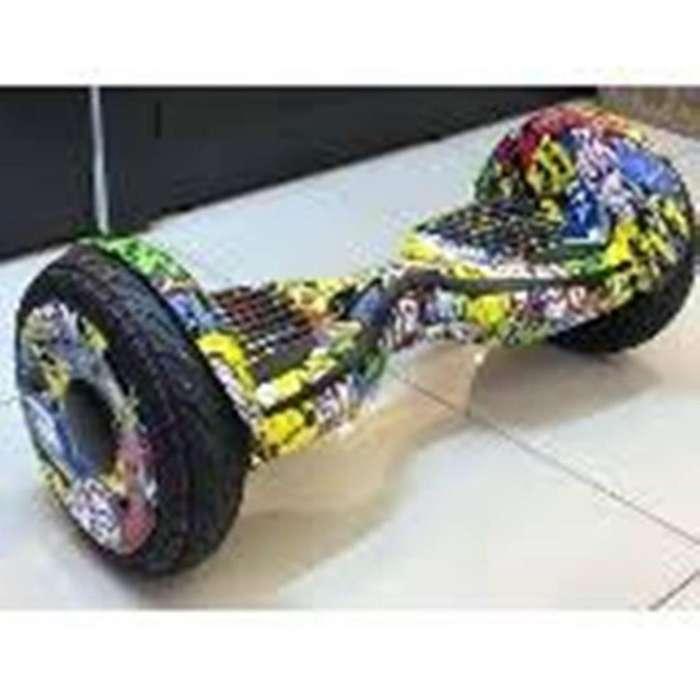 Skate Patineta Electrica Hoverboard Con Diseño Dinaxluz