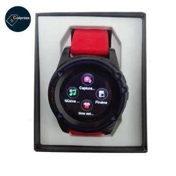 Smart Watch rojo Reloj inteligente.