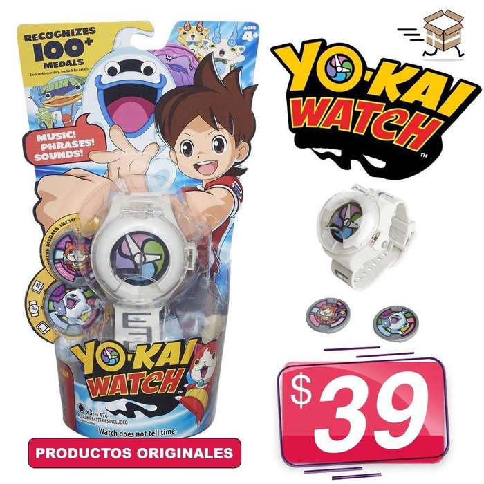 Vendo Relojes Yo Kai Watch Originales