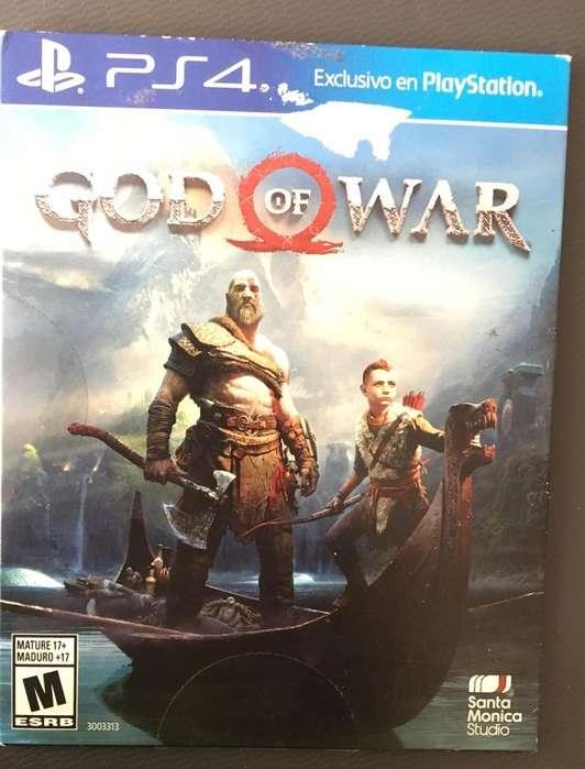 God Of War 4 Buen Estado