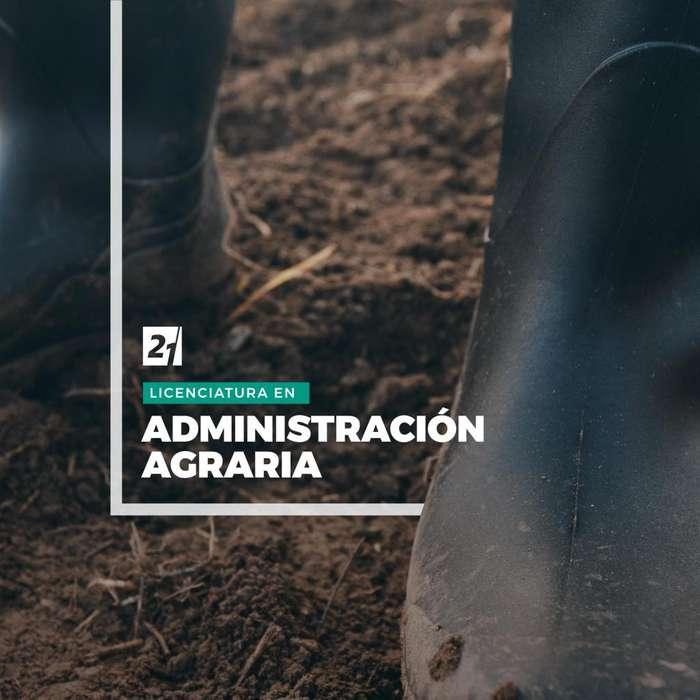 Licenciatura en Administración Agraria - Universidad Siglo 21