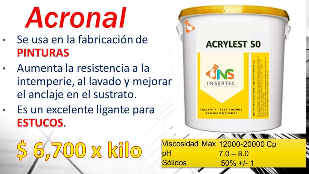 ACRILICA ESTERINEDA, ACRYLEST 50 - ventas al mayor y detal