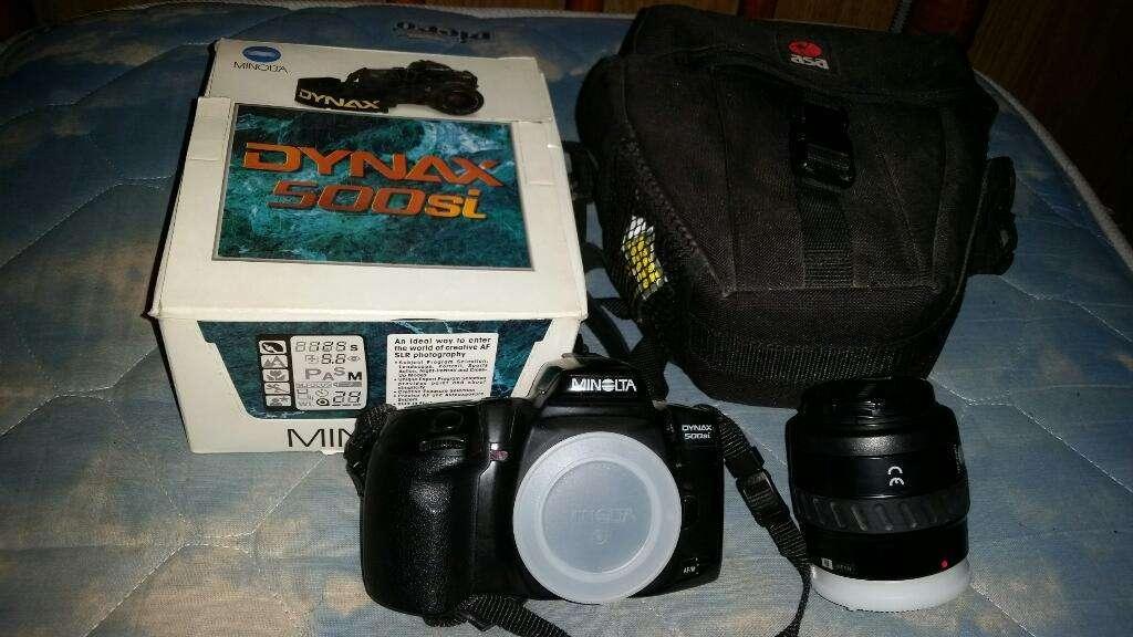 Camara Minolta Dynax 500si. Impecable